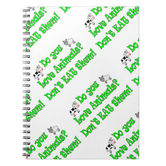Do You Love Animals? Notebook