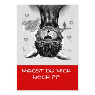 DO you really like ME   ? Alpaca - card 13 Cm X 18 Cm Invitation Card