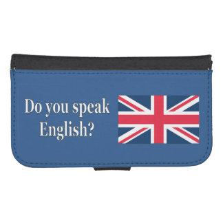Do you speak English? in English. Flag wf