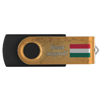 Do you speak Hungarian? in Hungarian. Flag wf USB Flash Drive
