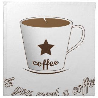 Do you want a coffee napkin