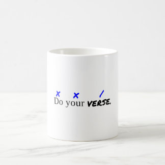 """Do Your Verse"" Classic 11 oz. Mug"