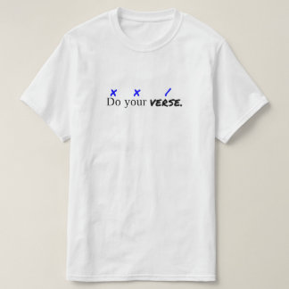 """""""Do Your Verse"""" Value T-Shirt"""