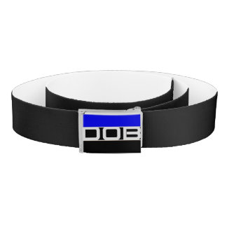 DOB Outerwear Belt (Black/White)