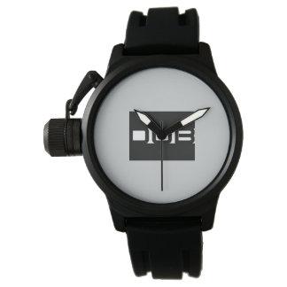 DOB Outerwear Black Rubber Watch