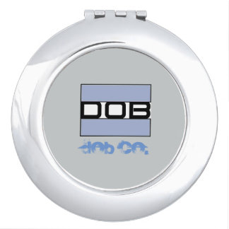 DOB Outerwear Ladies Cosmetic Mirror Compact Mirro Makeup Mirrors