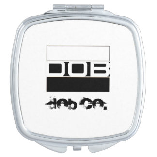 DOB Outerwear Ladies Cosmetic Mirror Vanity Mirror