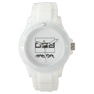 DOB Outerwear Ladies White Silicone Watch