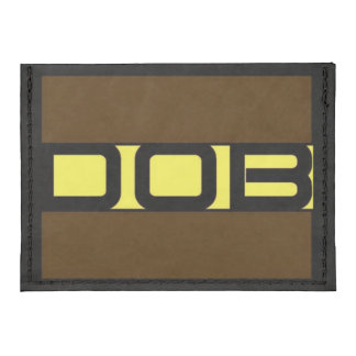 DOB Outerwear - Men's Card Case Wallet Tyvek® Card Tyvek® Card Wallet