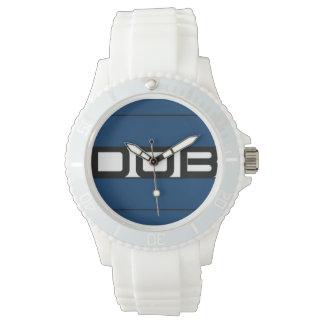 DOB Outerwear Sporty Silicon Watch (White)