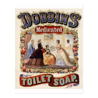 Dobbins Vintage Ad Postcard