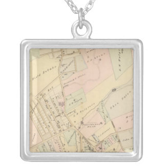 Dobbs Ferry, New York 2 Silver Plated Necklace