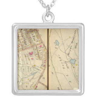 Dobbs Ferry, New York 3 Silver Plated Necklace