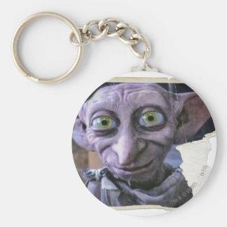 Dobby 1 basic round button key ring