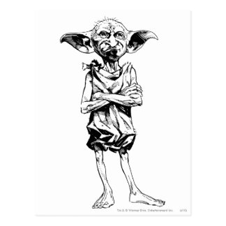 Dobby 3 postcard