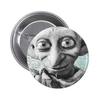 Dobby 4 6 cm round badge