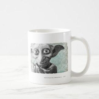 Dobby 4 basic white mug