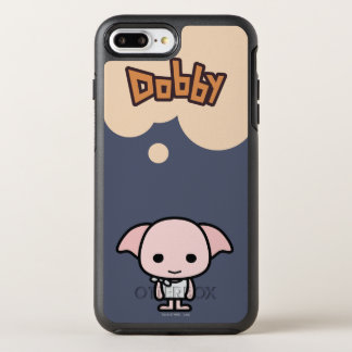Dobby Cartoon Character Art OtterBox Symmetry iPhone 8 Plus/7 Plus Case