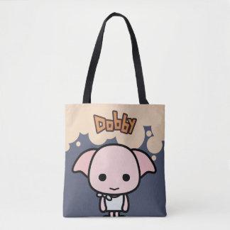 Dobby Cartoon Character Art Tote Bag