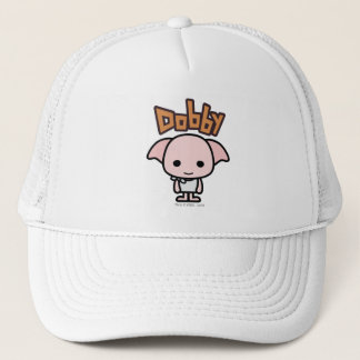 Dobby Cartoon Character Art Trucker Hat