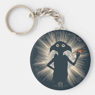 Dobby Casting Magic Basic Round Button Key Ring