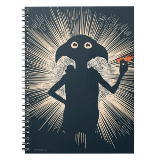 Dobby Casting Magic Notebooks