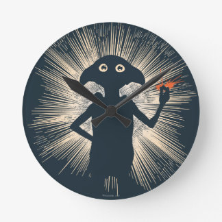 Dobby Casting Magic Round Clock