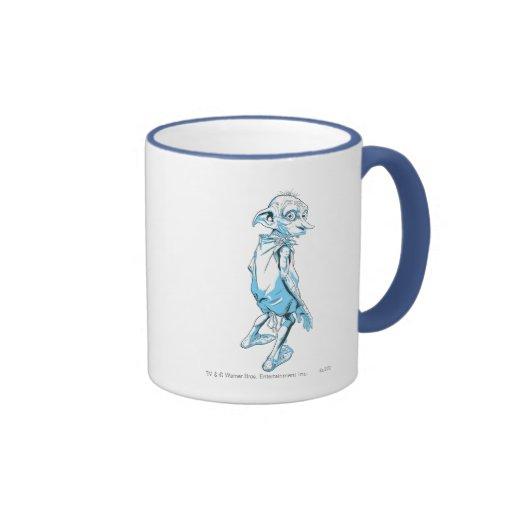 Dobby Looking Over 1 Coffee Mugs