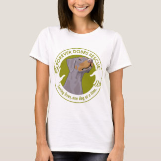 dobe-fawn-uncropped-ear-logo-8-29-11 T-Shirt