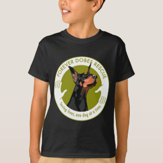 dobe-logo-round-8-18-11 tee shirt