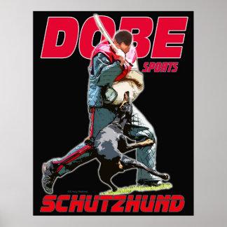 Dobe Sport Schutzhund design Poster