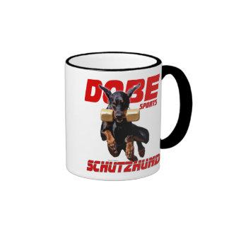 Dobe Sport Schutzhund Retrieve design Ringer Mug