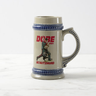Dobe Sports Schutzhund design Beer Stein