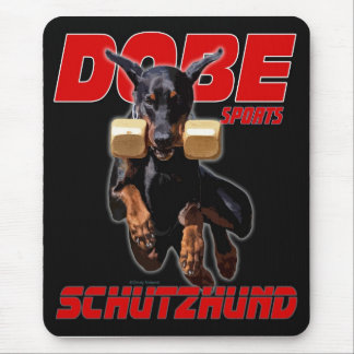 Dobe Sports Schutzhund Retrieve design Mouse Pad