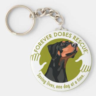 dobe-uncropped-ear-logo-8-29-11 key ring