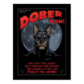 Dober Man! Post Cards