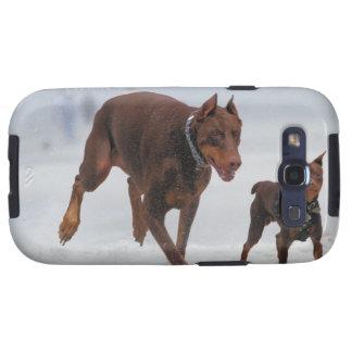 Doberman and Min Pin - LOOK! A Mini Me! Samsung Galaxy S3 Cases