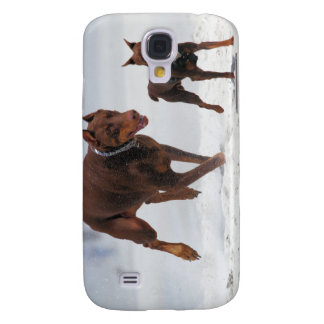 Doberman and Min Pin - LOOK! A Mini Me! Galaxy S4 Case