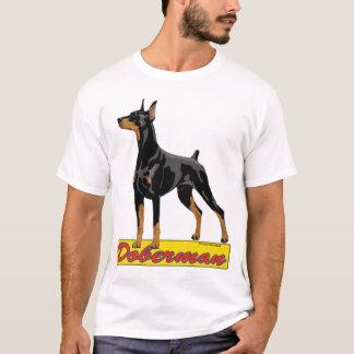 Doberman- black T-Shirt