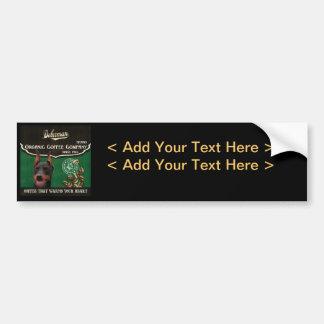 Doberman Brand – Organic Coffee Company Bumper Sticker