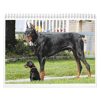 Doberman Calendar 2012