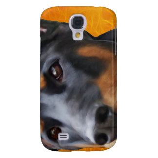Doberman Close Up Galaxy S4 Case