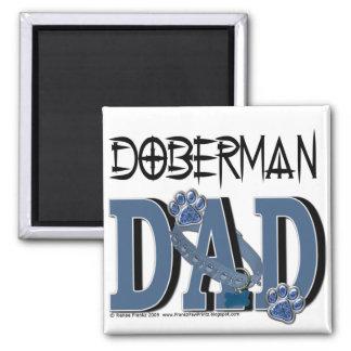 Doberman DAD Magnet
