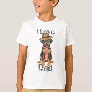 Doberman Dad Tshirt