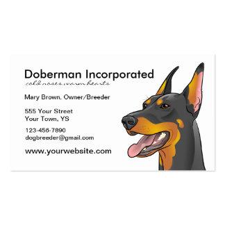 Doberman Dog Breed Business Cards