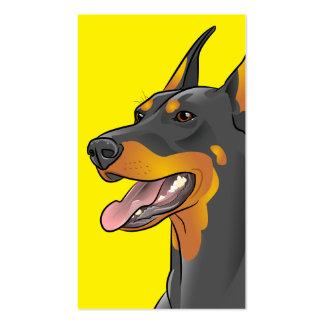 Doberman Dog Breed Customizable Business Cards