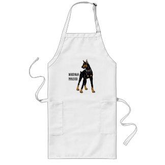 doberman pinscher apron