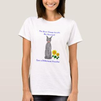 Doberman Pinscher Best Things In Life T-Shirt