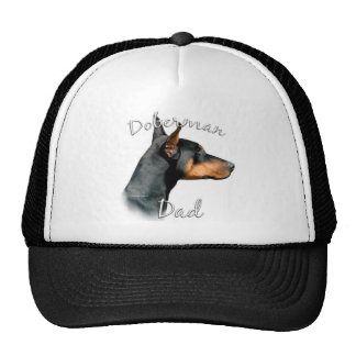 Doberman Pinscher (blk) Dad 2 Mesh Hat