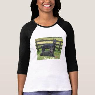 Doberman Pinscher Buddies Ladies T-Shirt